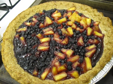 Blueberry-Pineapple Pie